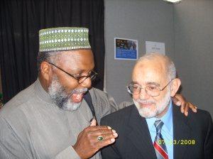 Imam Johari and Dr. Jamal Badawi