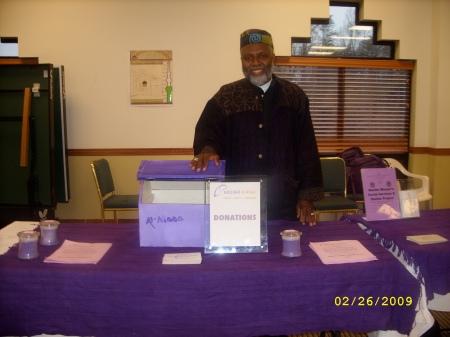 Imam Johari at DV Workshop at Masjid Dar Al-Nur, Virginia