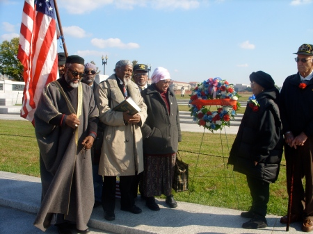 Imam Johari at Muslim Veteran Memorial Day